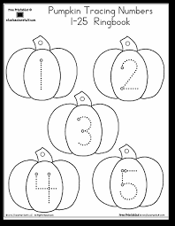 pumpkin number tracing 1 25 a to z teacher stuff printable pages