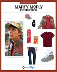 marty mcfly costume dress like future marty mcfly costume and guides
