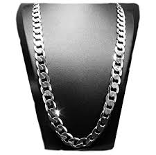 chain necklace white gold images White gold chain necklace 9 1mm 18k diamond cut smooth cuban link jpg