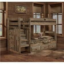 Rustic Bunk Bed Rustic Bunk Beds Latitudebrowser