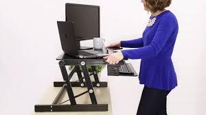 Standing Sitting Desk by Flexpro Plus 31 U0027 Sit Stand Standing Desk By Stand Steady Review