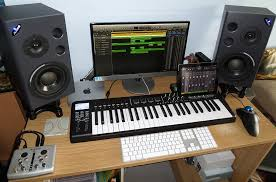 mac setup the mac mini workstation of a music composer
