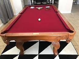 slate top pool table pool table total package 8 x 4 slate billiard table with table