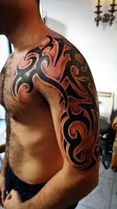tattoo tribal chest tribal tattoo lad gets roped into civil war on holiday