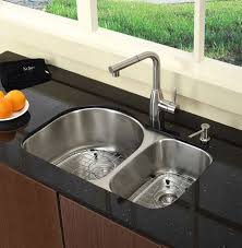 kraus kbu21 30 inch undermount 60 40 bowl kitchen sink with