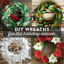 diy wreaths diy wreaths for the holidays and how to make them
