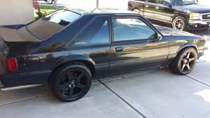 1993 mustang hatchback for sale ford mustang hatchback 1993 black for sale 1facp41e4pf173009 1993