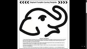 amazing elephant pumpkin carving pattern 24 on house decorating