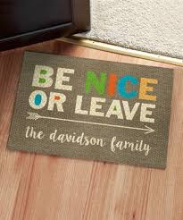 Doormat Leave Customized Gifts For Home Zulily