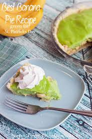 best banana cream pie recipe green for st patricks day life