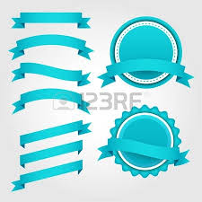 paper ribbons vector set of pink paper ribbons labels and badges royalty free