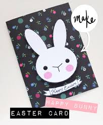 happy bunny easter card my poppet makes