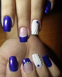 summer beach seashell nail art inspired by jeju island gatsby