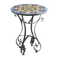 outdoor mosaic accent table mosaic accent table outdoor mosaic accent table sonoma outdoors