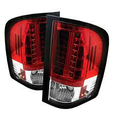2008 chevy silverado led tail lights spyder auto chevy silverado 1500 2500 3500 black led tail light