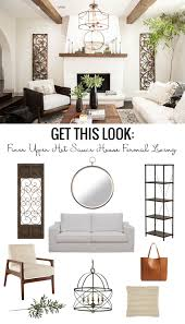 Formal Livingroom by Remodelaholic Get This Look Farmhouse Formal Living Room From