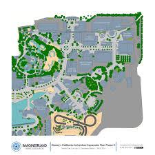 Disney California Adventure Map Imagineerland Disneyland Resort Phased Expansion Plan Part 5