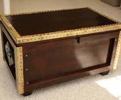 treasure chest coffee table 10 steps with pictures
