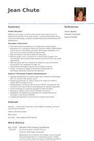 Logistics Coordinator Resume Sample by Technology Coordinator Resume Samples Visualcv Resume Samples