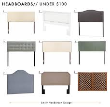 Stand Alone Headboard by 72 Affordable Headboards At Every Price Point Emily Henderson