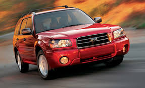 red subaru forester 2000 2003 2004 subaru forester car news news car and driver