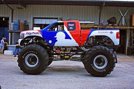 nitro circus monster truck backflip bigfoot monster truck defects to chevy after 35 years techautos