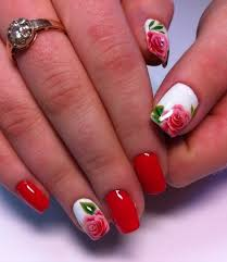 spring nail art ideas in the floral style fashion u0026 trend