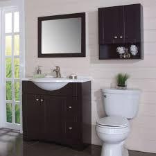 amazon com glacier bay over toilet storage cabinet in espresso