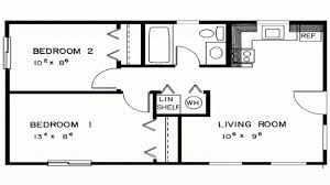 Two Bedroom House Floor Plans Wonderful 2 Bedroom Cabin Plans 82 With House Decor With 2 Bedroom