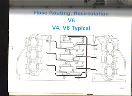 v 6 evinrude 1988 recirculation system hose routing chart needed