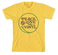 black friday t shirt black friday rsd 2015 peace love vinyl slim fit t shirt beverly