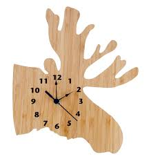 amazon com trend lab wall clock northwoods bear nursery
