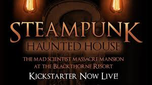 new york city haunted house halloween steampunk haunted house halloween forever by jeff mach u2014 kickstarter