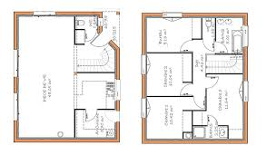 plan de maison a etage 5 chambres plan maison 120m2 4 chambres