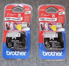 how to install brother p touch tape 2 x brother mk221bz m k221bz new p touch tape cassette white with