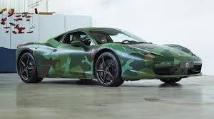 modified ferrari this camouflaged ferrari 458 italia is a bargain top gear