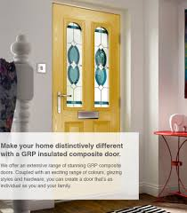 information about our impressive range of external doors front