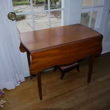 Mahogany Drop Leaf Table Hepplewhite Mahogany Drop Leaf Table With Secret Drawer C 1790