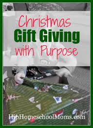 christmas gift giving with purpose hip homeschool moms
