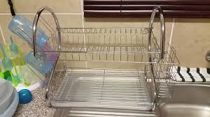 Dish Rack And Drainboard Set D I Y Old Dish Rack Tip Youtube