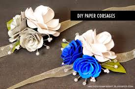 how to make wrist corsage time paper flower corsages minted strawberry