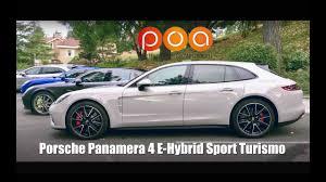 porsche panamera hybrid red porsche panamera 4 e hybrid sport turismo 1er essai youtube