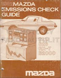1982 mazda 626 repair shop manual original