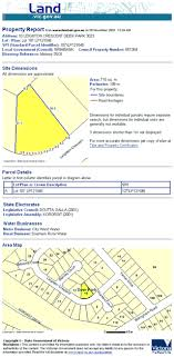 land survey report template property reports introduction