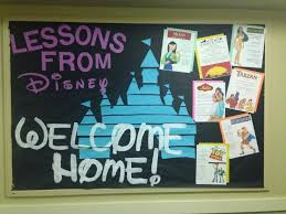 292 best disney themed classroom images on pinterest disney lessons from disney welcome home ra bulletin board