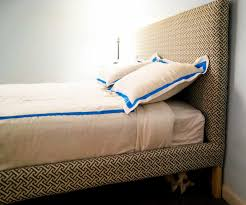 Bed Frame Ikea Ikea Hack How To Upholster A Fjellse Bed Frame Emmerson And
