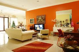 Orange Living Room Decor  Lively Orange Living Room Design Ideas - Orange living room design