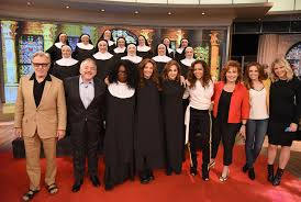 The Social Cast by Sister Act Cast Reunites For Sweet 25th Anniversary On The View