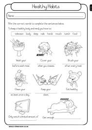 grade 4 health worksheets austsecure com
