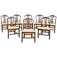 Dining Room Armchairs George Iii Dining Room Chairs 47 For Sale At 1stdibs